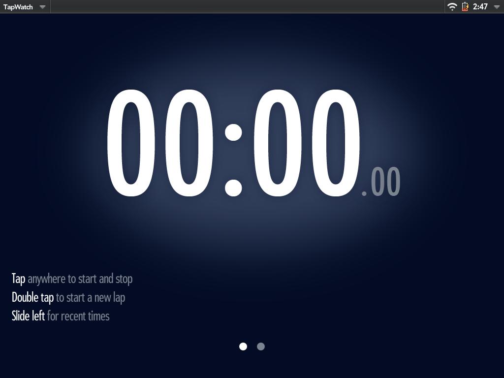 TapWatch Screenshot 0